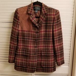 Vintage Lauren Ralph Lauren pure wool blazer